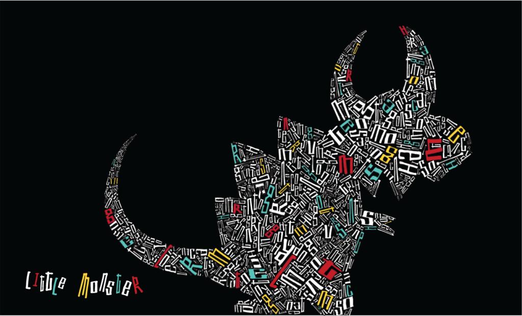 JC's Own - Little Monster (Grenache) label design