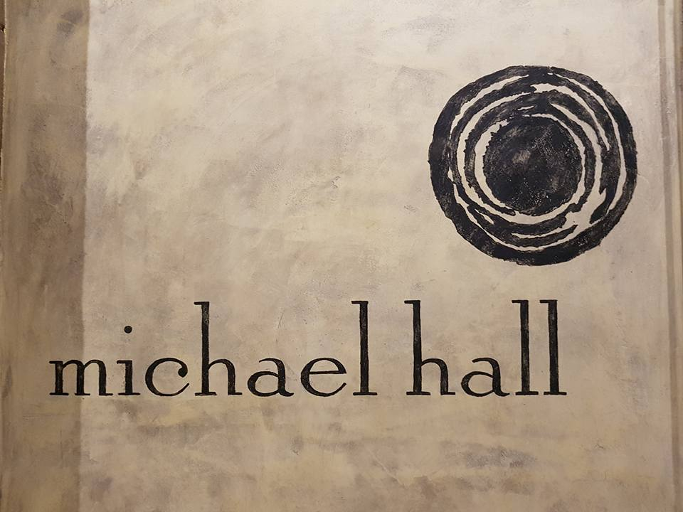 Michael Hall wines logo detail